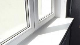 ПВХ окно с откосами