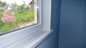 Пластиковое окно с теплым откосом
