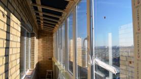 Крыша на балконе 9 метров