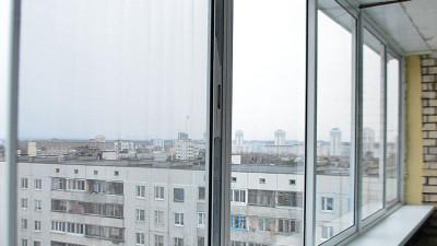 Алюминиевая рама на балкон